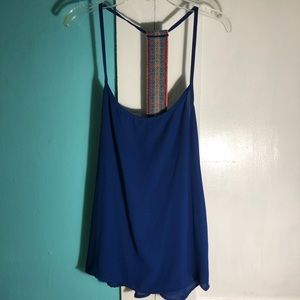 Bella D. Royal Blue Tank Top